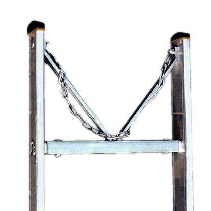 V profil s řetízkem k Al žebříku Forte - 3057 široký