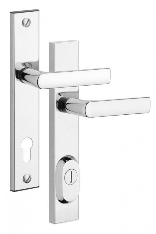 Rostex R4 bezpečnostní kování - klika-klika garážové 90 Cr