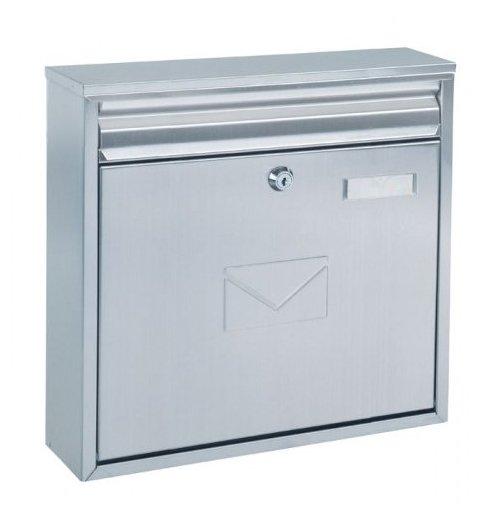 Poštovní schránka Teramo nerez 36x32x8.5cm Ostatní
