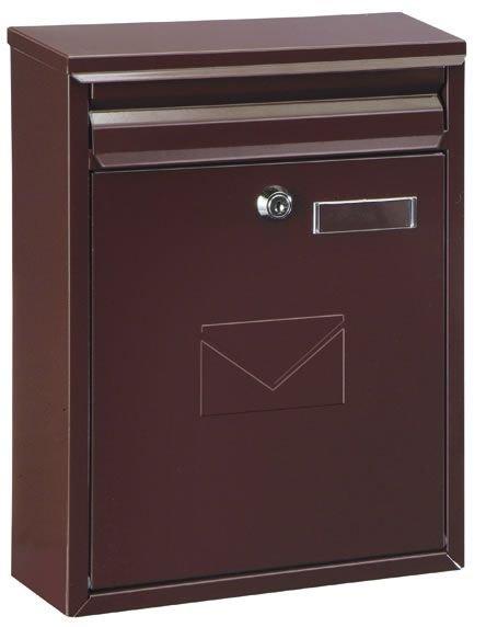 Poštovní schránka COMO 25x32x8.5cm - nerez Ostatní