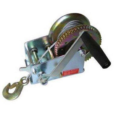 Ruční lanový naviják s hákem - 500kg/4mm/8m