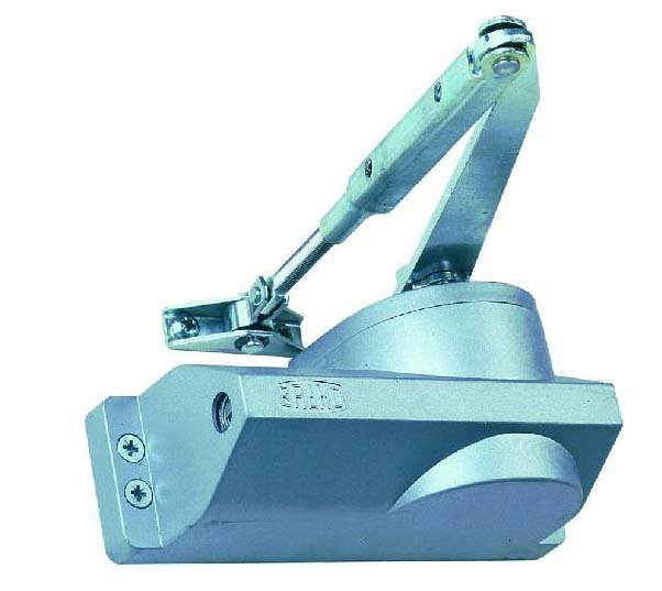Zavírač dveří Brano K204 hydraulický stříbrný - K204/13 30-60kg