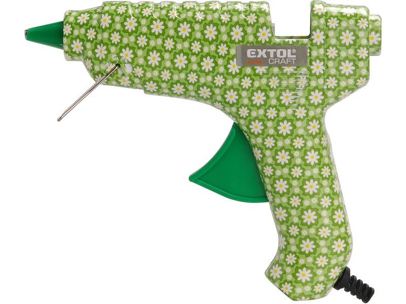 Tavná pistole Extol Craft 422100 40W květinová