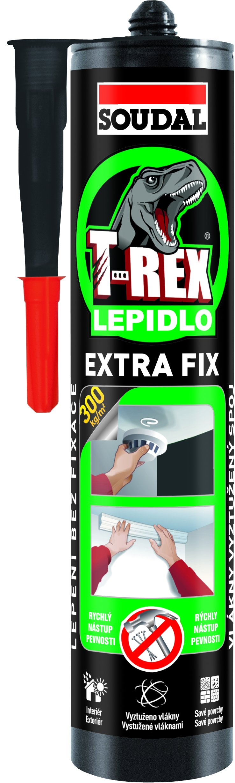 Lepidlo montážní T-Rex Extra Fix 380g Soudal