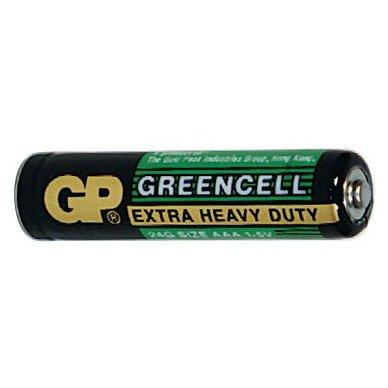 Baterie GP Greencell R03 (AAA, mikrotužka)