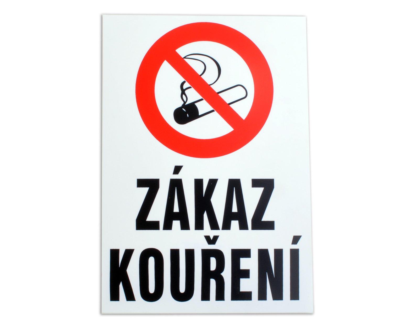 Tabulka Zákaz kouření