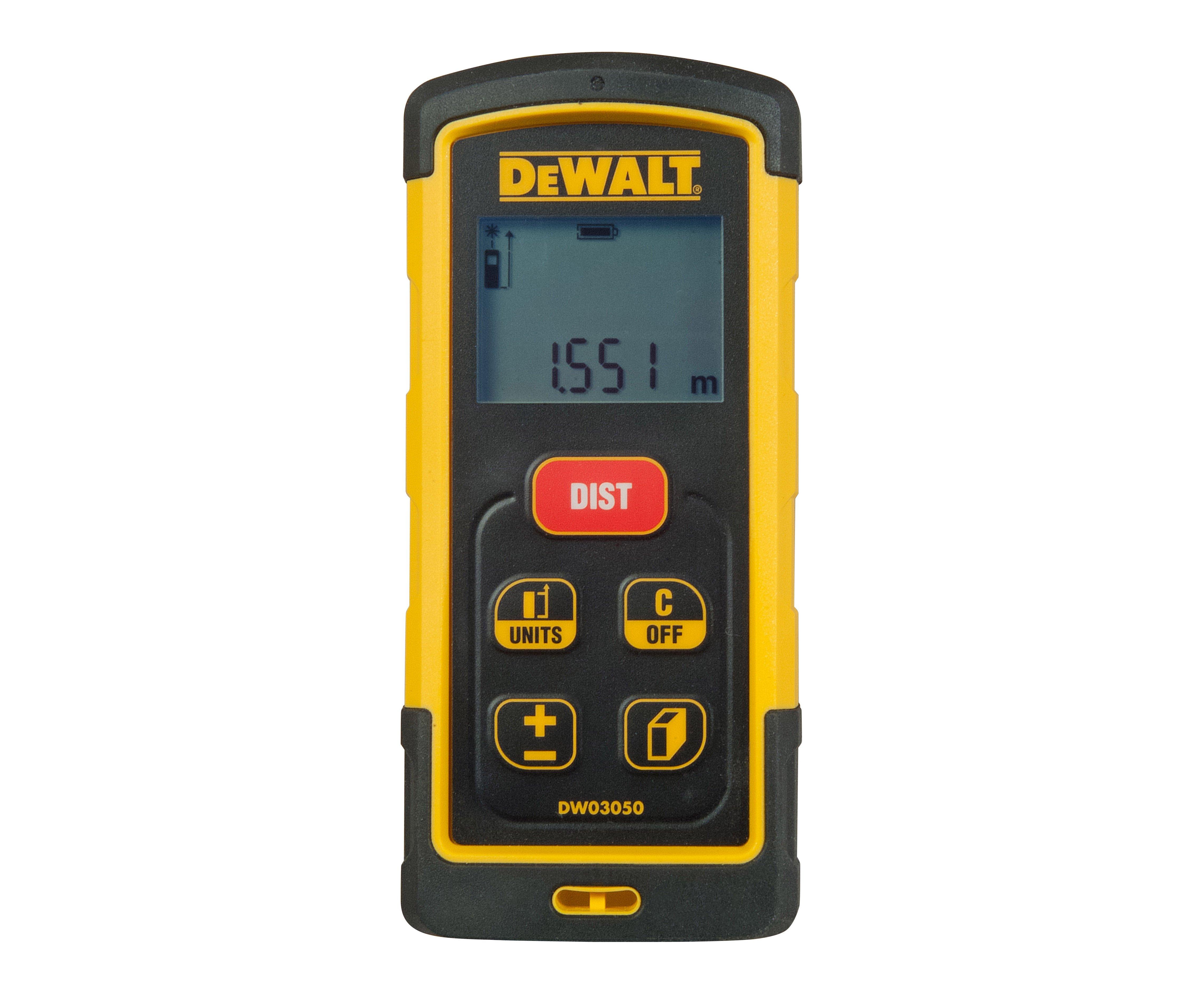 DeWALT DW03050 laserový dálkoměr 50m
