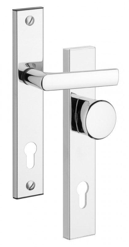Rostex 802 bezpečnostní kování - klika-knoflík 72 Cr
