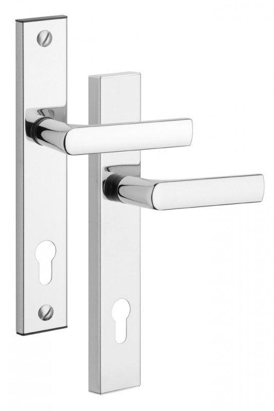 Rostex 807 bezpečnostní kování - klika-klika+řetízek 90 Cr