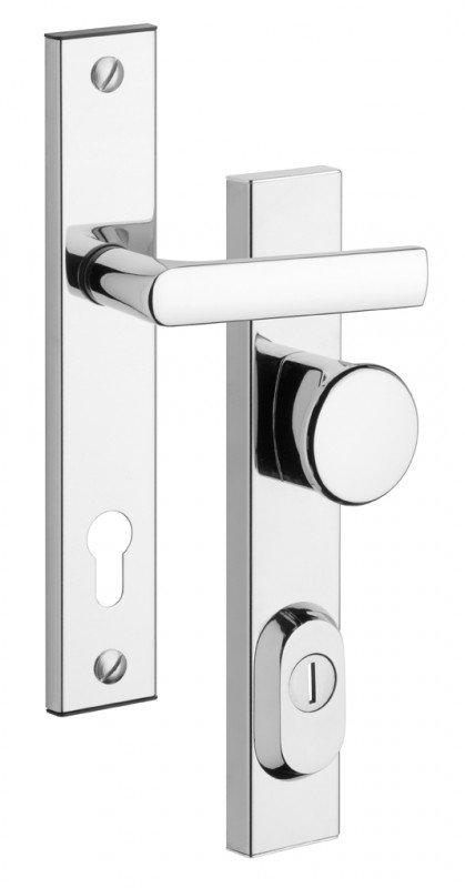 Rostex R1 bezpečnostní kování - klika-knoflík 90 Cr