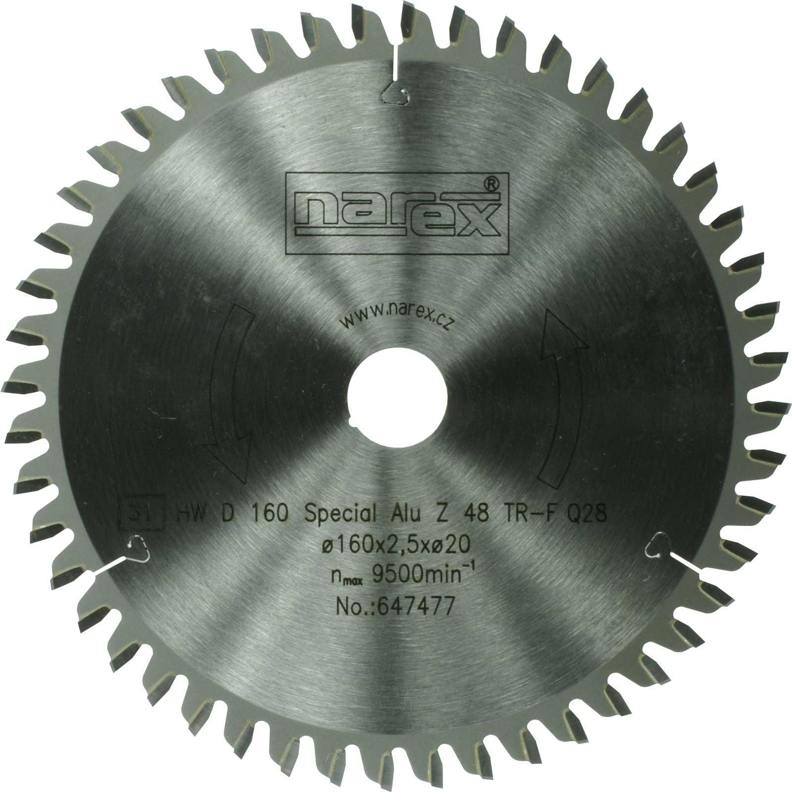 Kotouč pilový 160x2.5x20/48 Special HW Narex