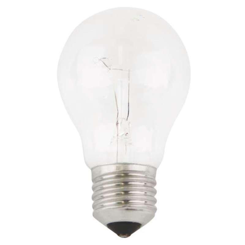 Žárovka E27 čirá otřesu vzdorná - Žárovka E27 100W čirá otřesu vzdorná