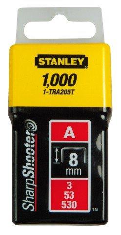 Spony typ A Stanley - 6mm 1-TRA204T