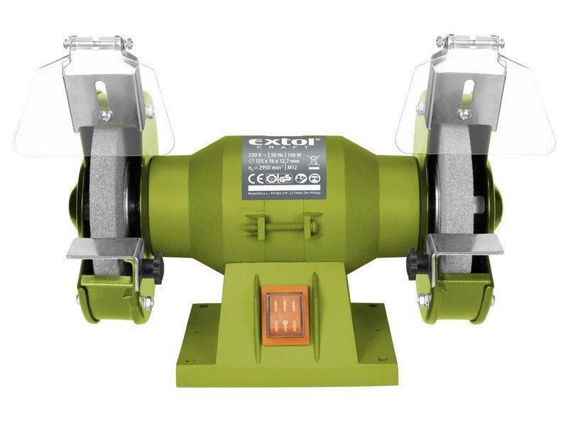 Extol Craft 410120 stolní bruska 150W 125mm