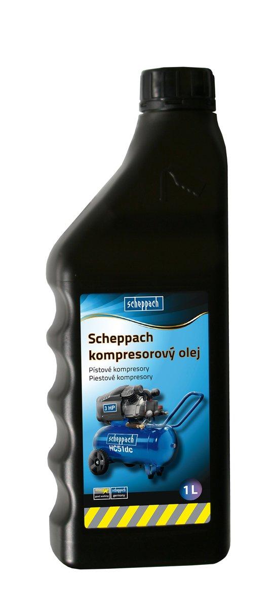 Kompresorový olej Scheppach 1l Scheppach