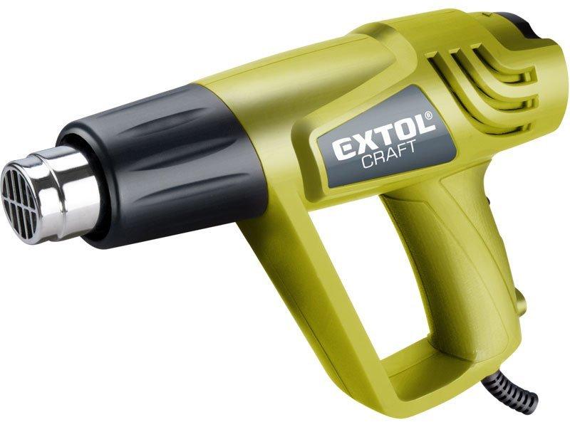 Extol Craft 411023 horkovzdušná pistole 2000W v kufru