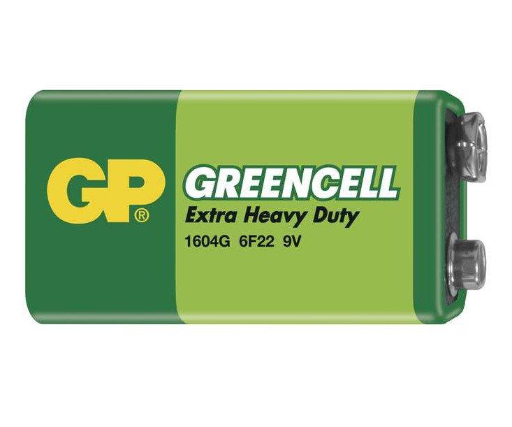 Baterie GP Greencell 6F22 9V