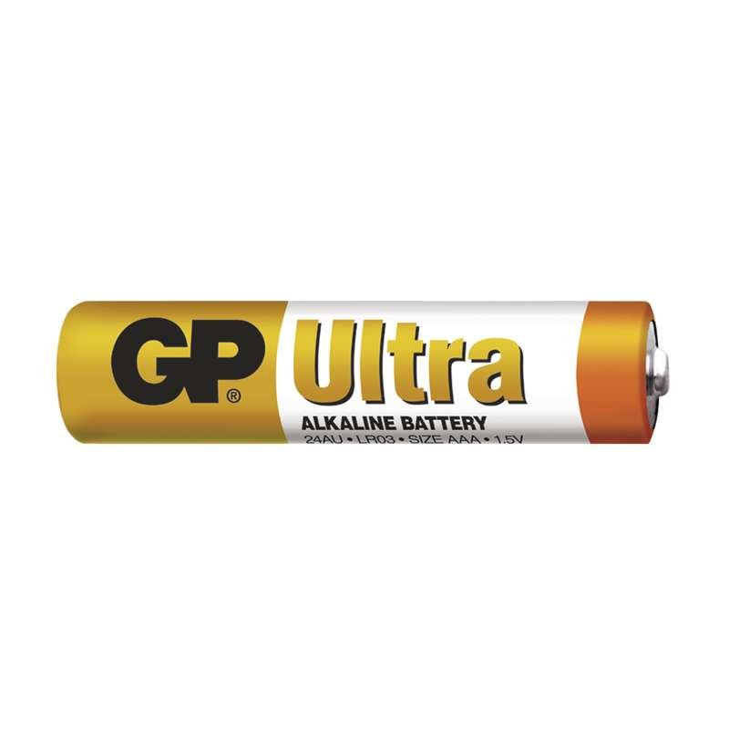 Baterie GP Ultra Alkaline LR03 (AAA, mikrotužka)