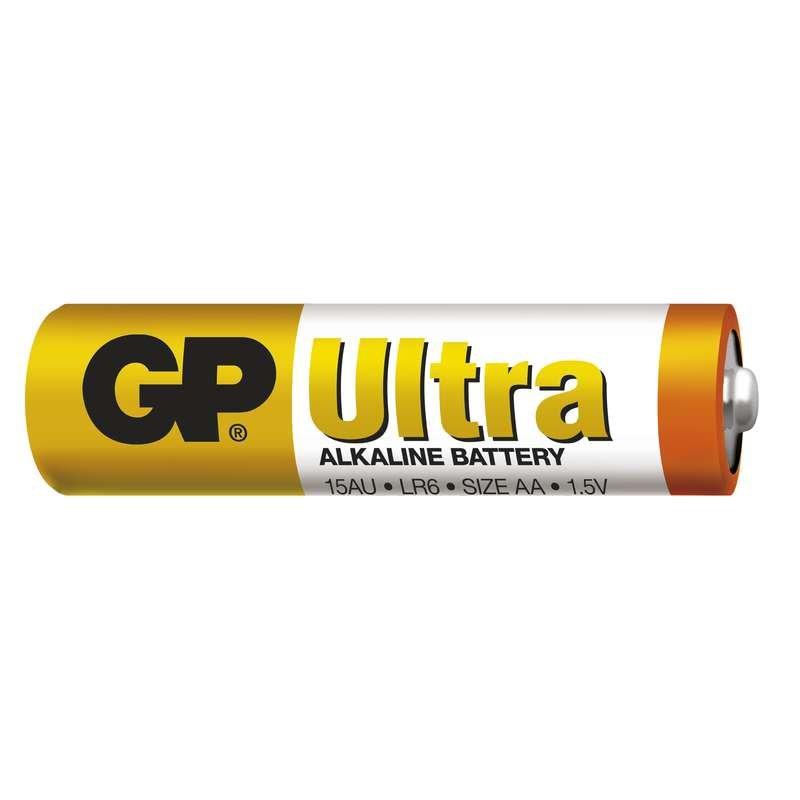Baterie GP Ultra Alkaline LR6 (AA, tužka)