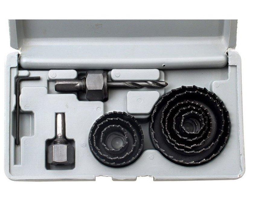 Sada vykružovací 8ks 30-65mm Extol Craft 1806