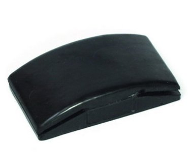 Podložka brusná guma 68x125mm