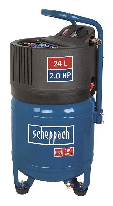 Scheppach HC 24 V bezolejový vertikální kompresor Scheppach