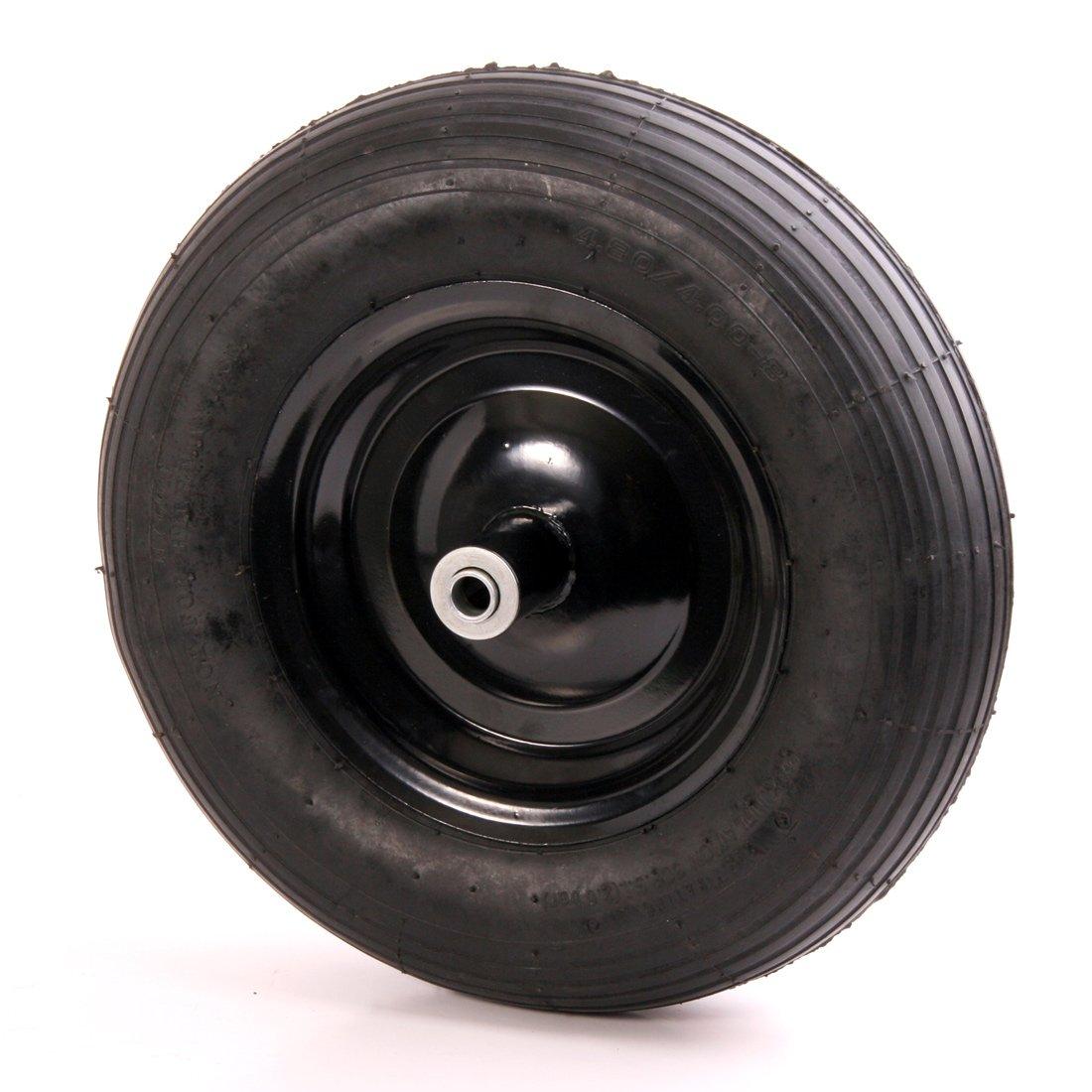 Kolo stavebního kolečka nafukovací kovový disk
