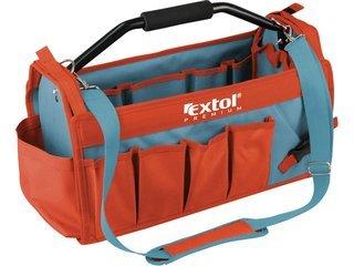 Taška na nářadí 49x23x28cm kovová rukojeť Extol Premium 8858022
