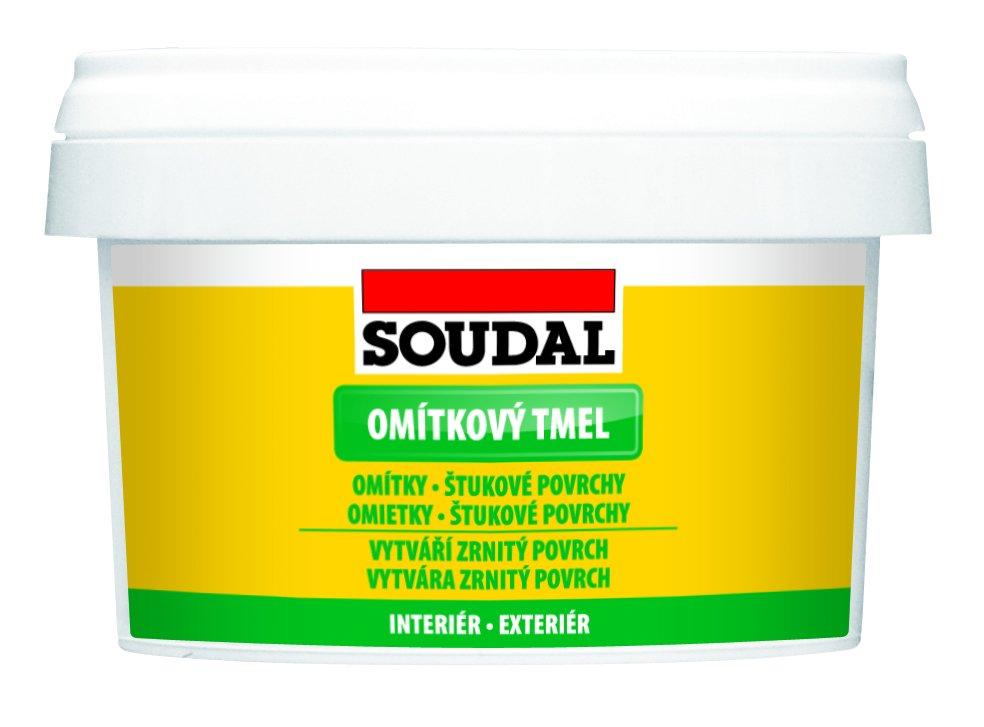 Tmel omítkový bílý 500g Soudal
