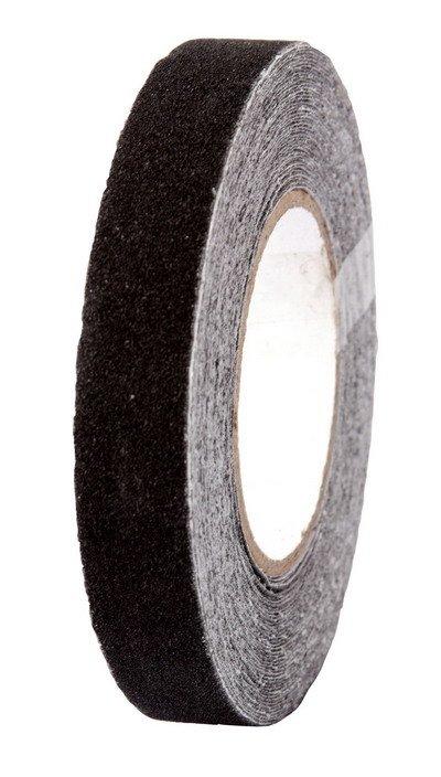 Páska protiskluzová černá 15m - 25mm
