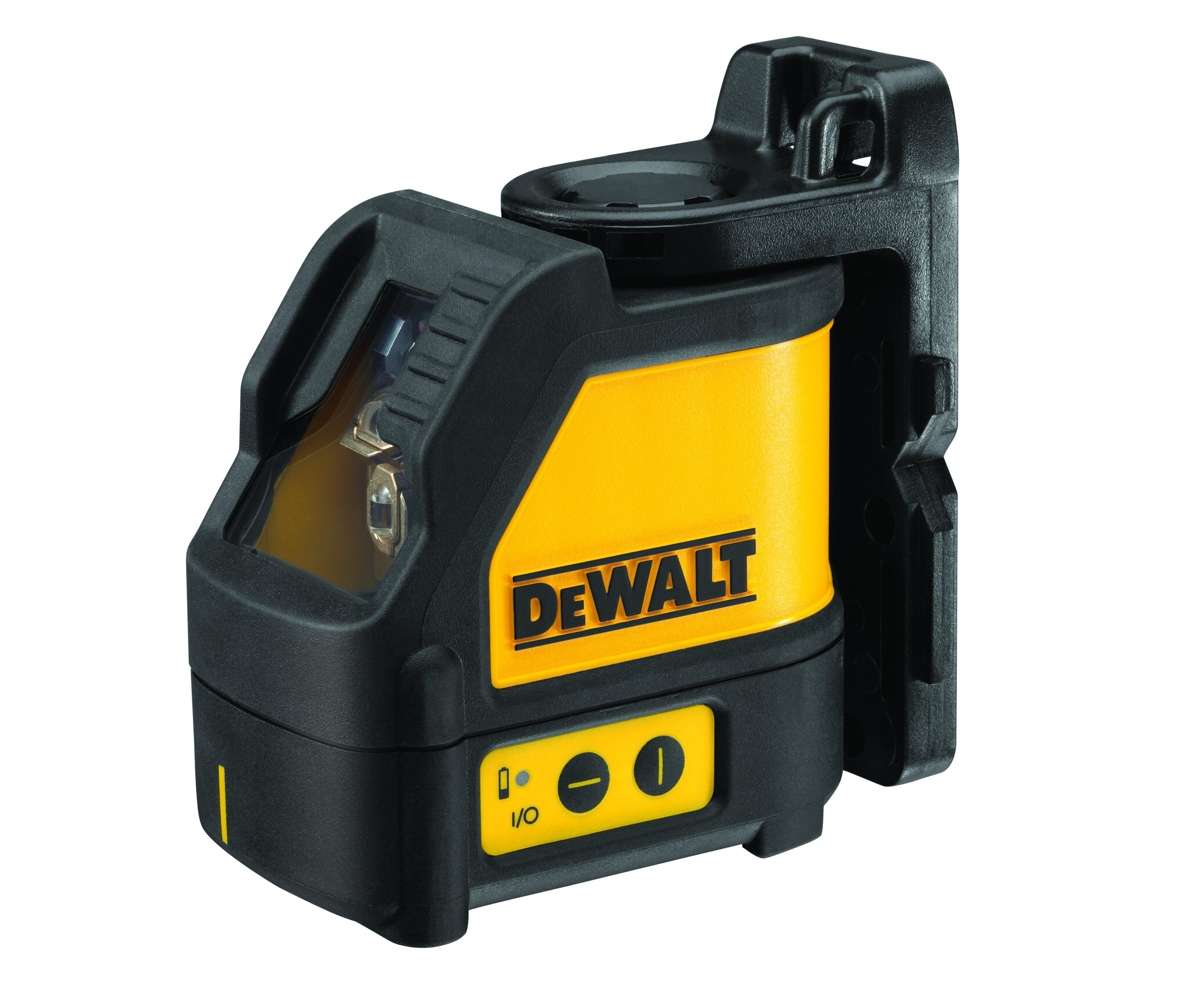 Laser křížový červený DeWALT DW088K