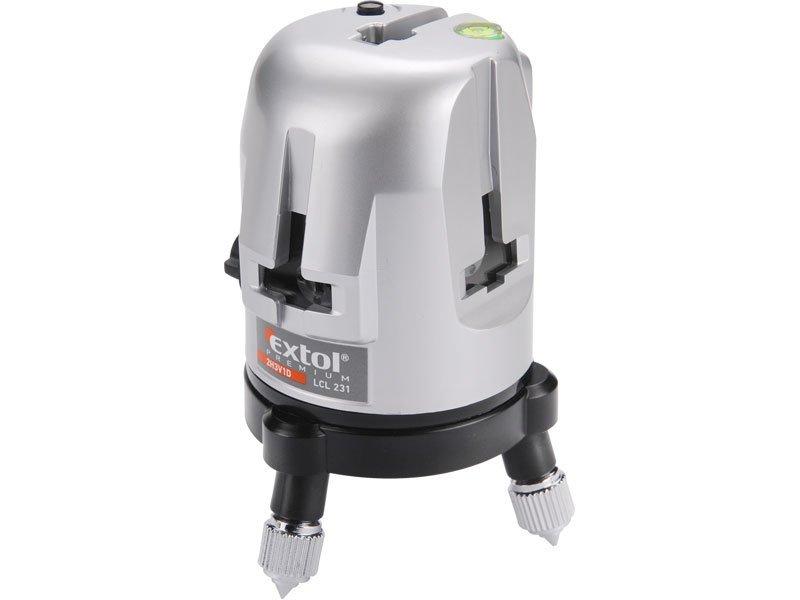 Laser liniový křížový 2H3V1D samonivelační Extol Premium 8823310