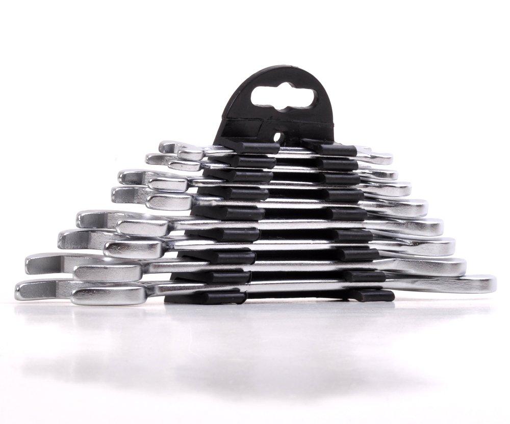 Sada plochých klíčů 8ks 6-22mm Extol Craft 6108B