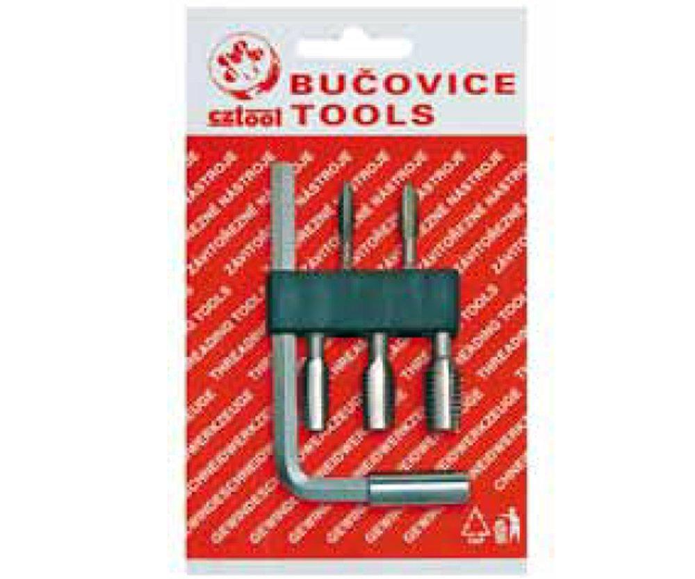 Sada závitořezných bitů BIT 2 Bučovice Tools - M5, M6, M8, M10, M12