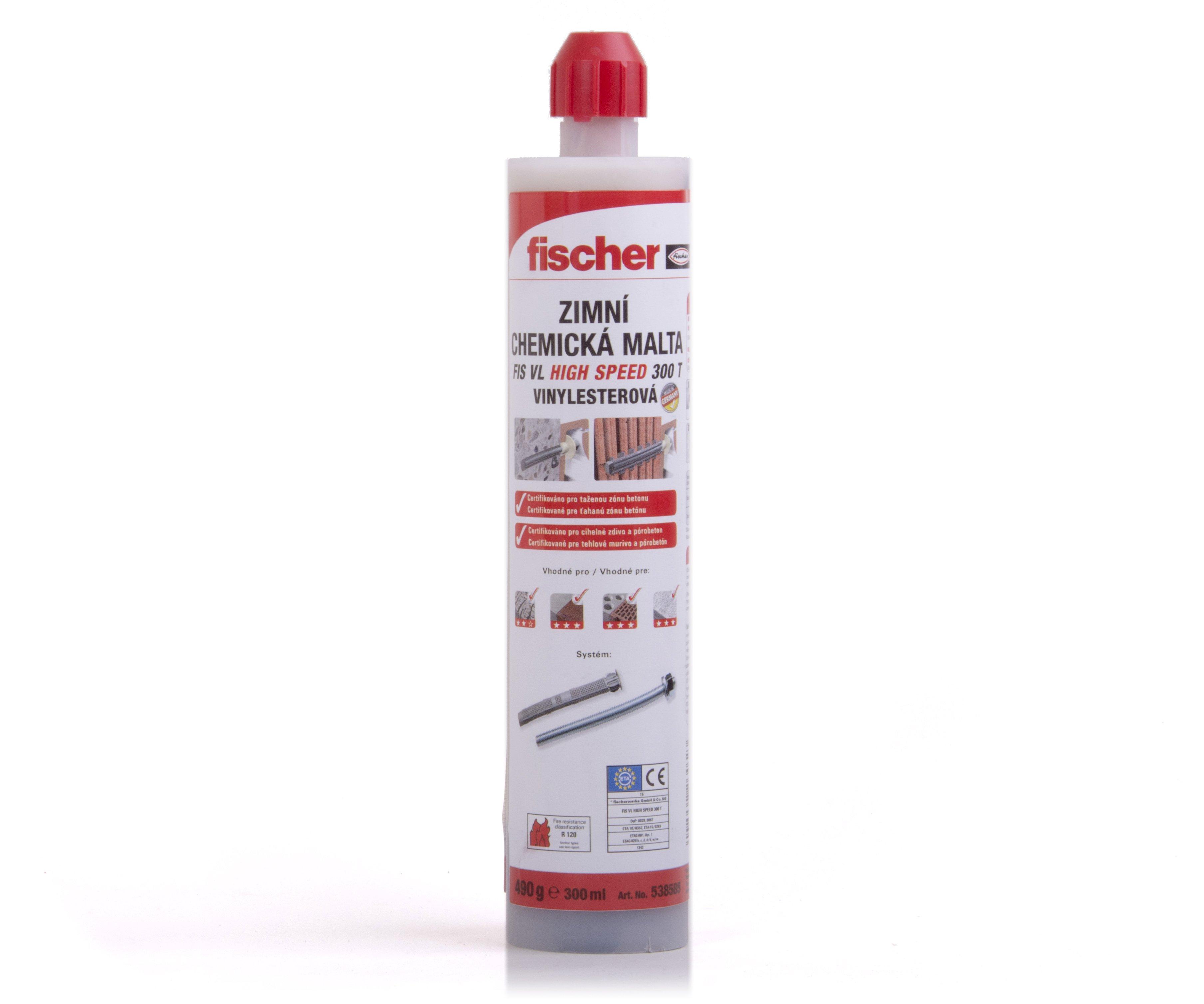 Chemická malta zimní FIS VL 300 T HIGH SPEED Fischer