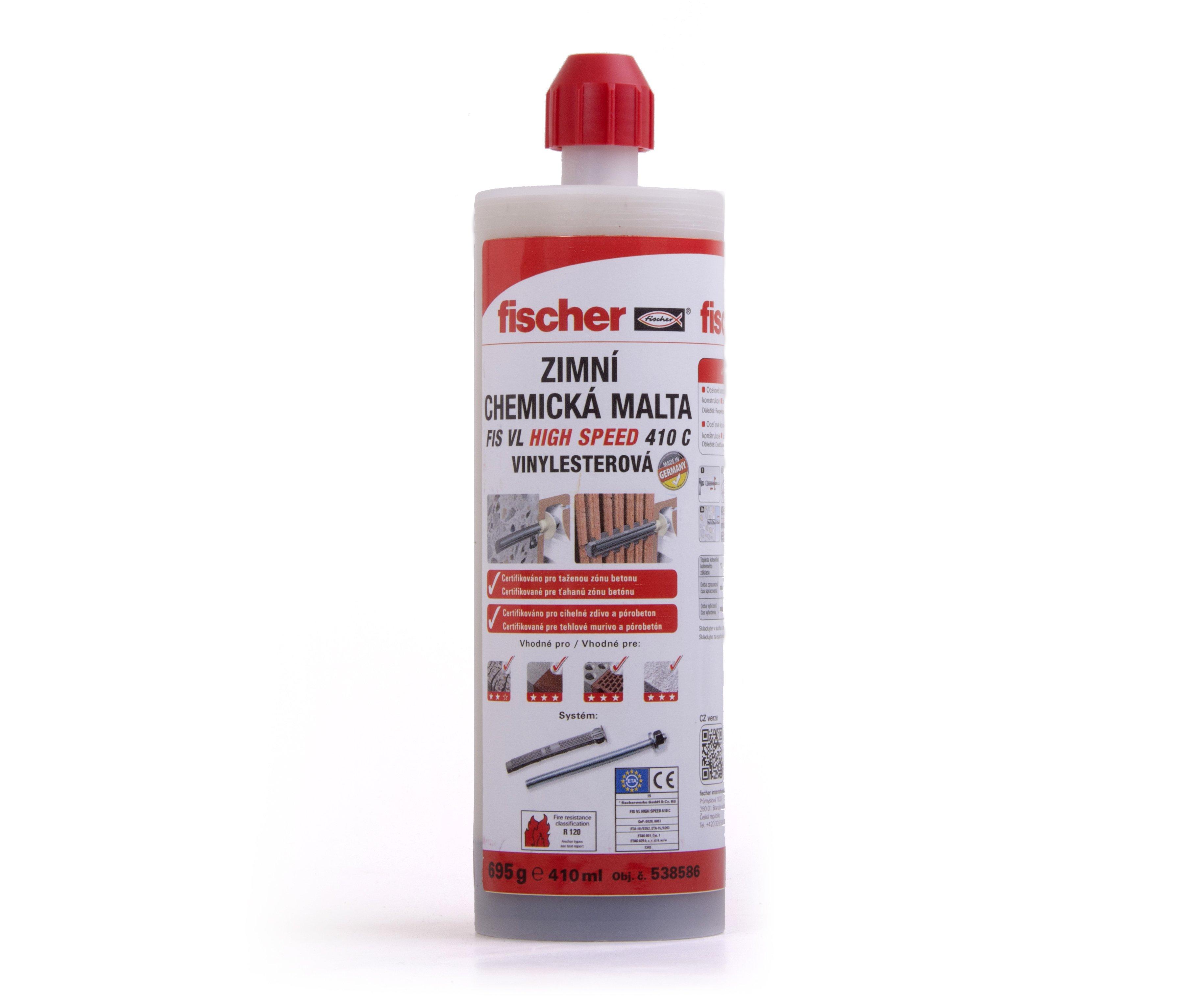 Chemická malta zimní FIS VL 410 C HIGH SPEED Fischer