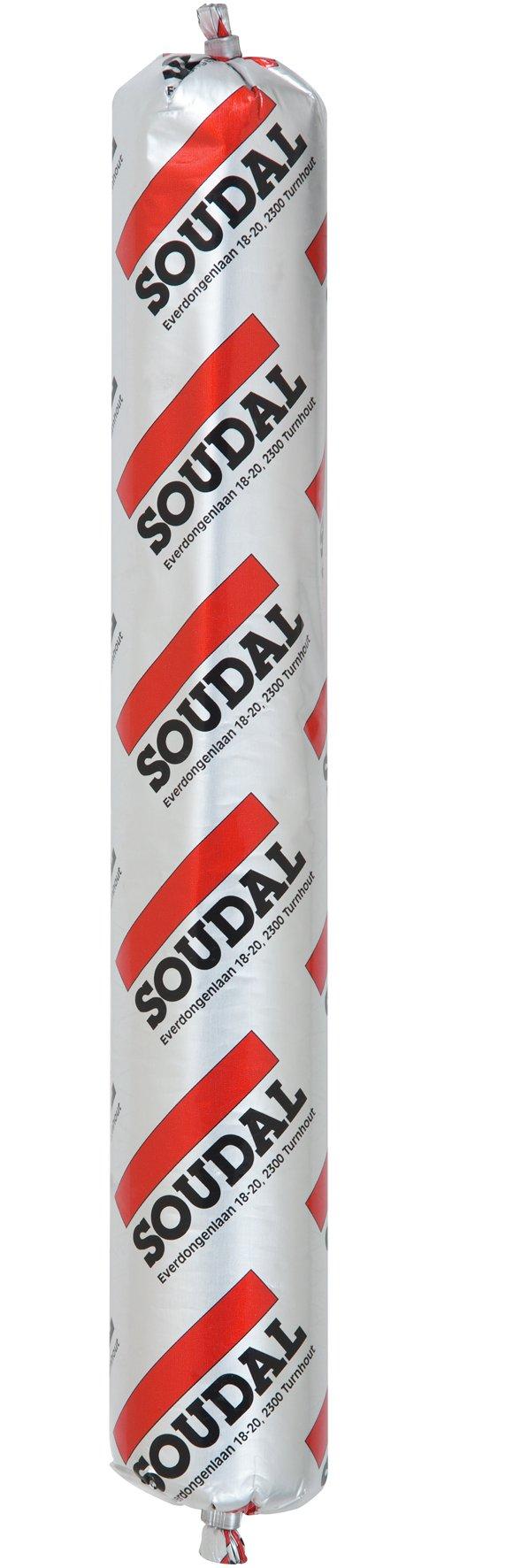 Tmel Butyrub 600ml Soudal - bílý