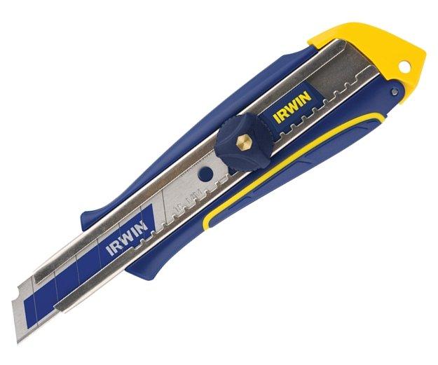 Nůž ulamovací 18mm s utahovacím šroubem Professional Irwin Irwin