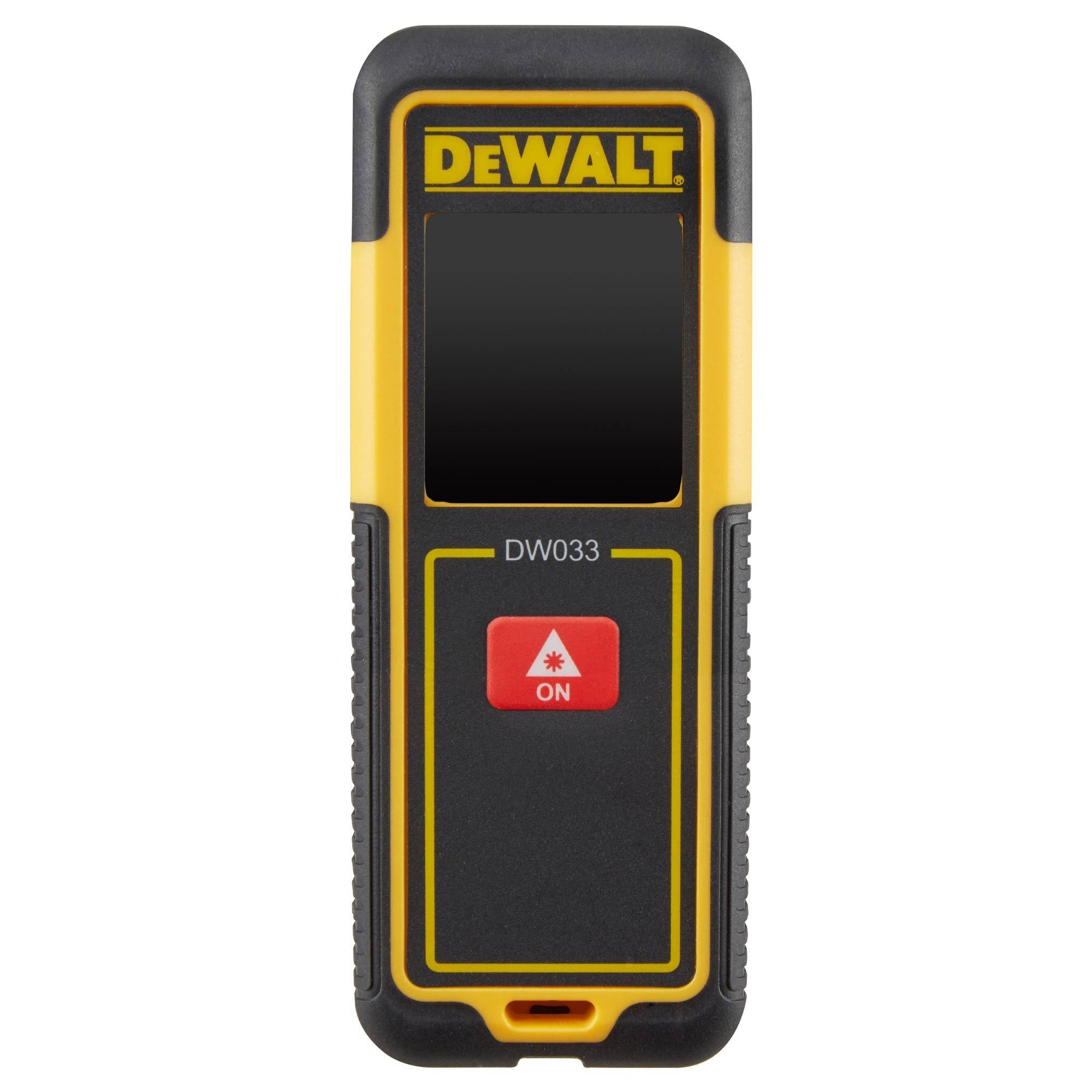 DeWALT DW033 laserový dálkoměr 30m