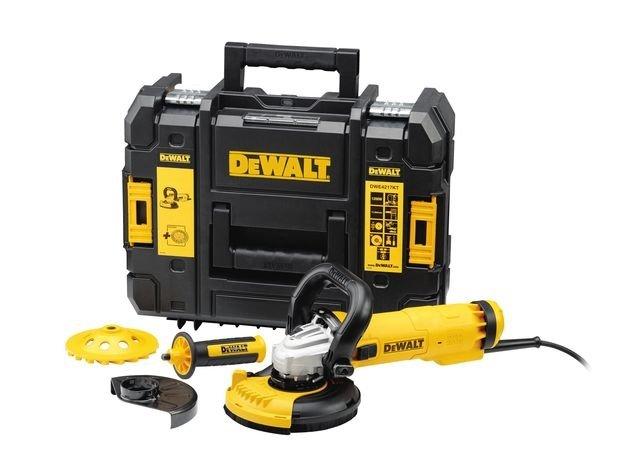 DeWALT DWE4217KT úhlová bruska 125mm 1200W