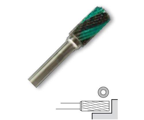 Fréza technická válcová s čelem - 6x12.7/3mm