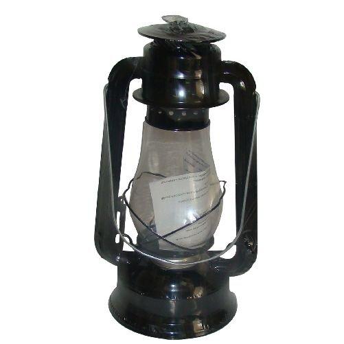 Lampa petrolejová 30cm - černá Ostatní