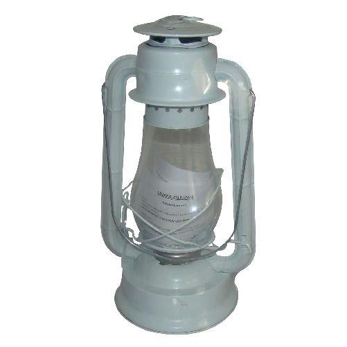 Lampa petrolejová 30cm - bílá Ostatní
