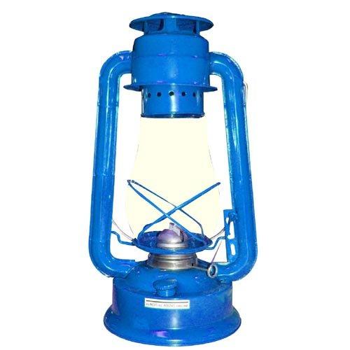 Lampa petrolejová 30cm - modrá Ostatní