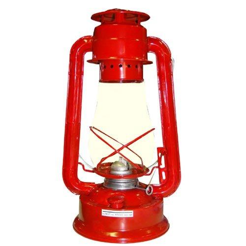 Lampa petrolejová 30cm - červená Ostatní