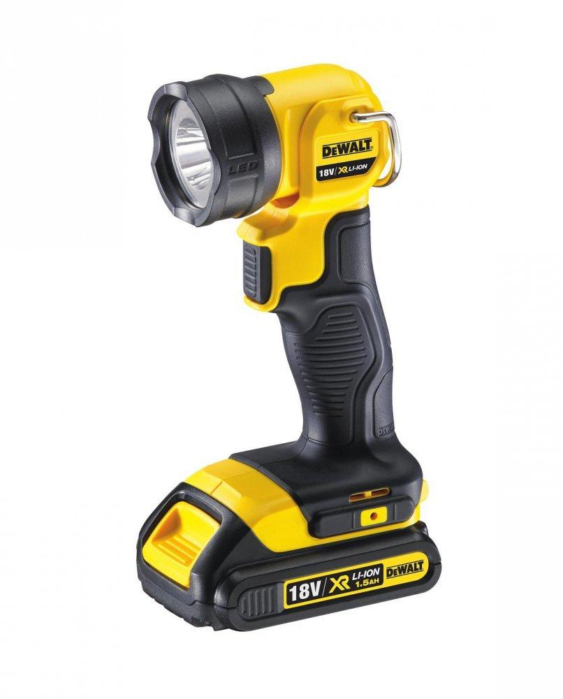 DeWALT DCL040 aku LED svítilna 18V bez aku