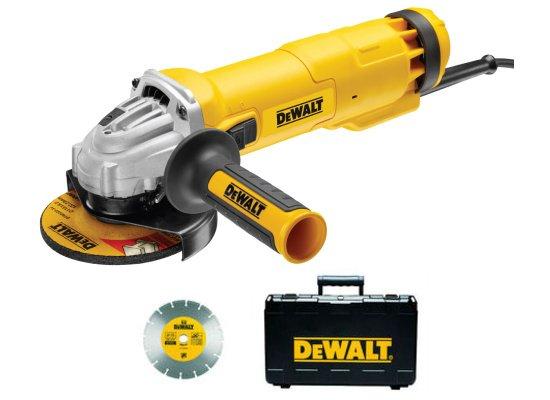 DeWALT DWE4217KD úhlová bruska 125mm 1200W