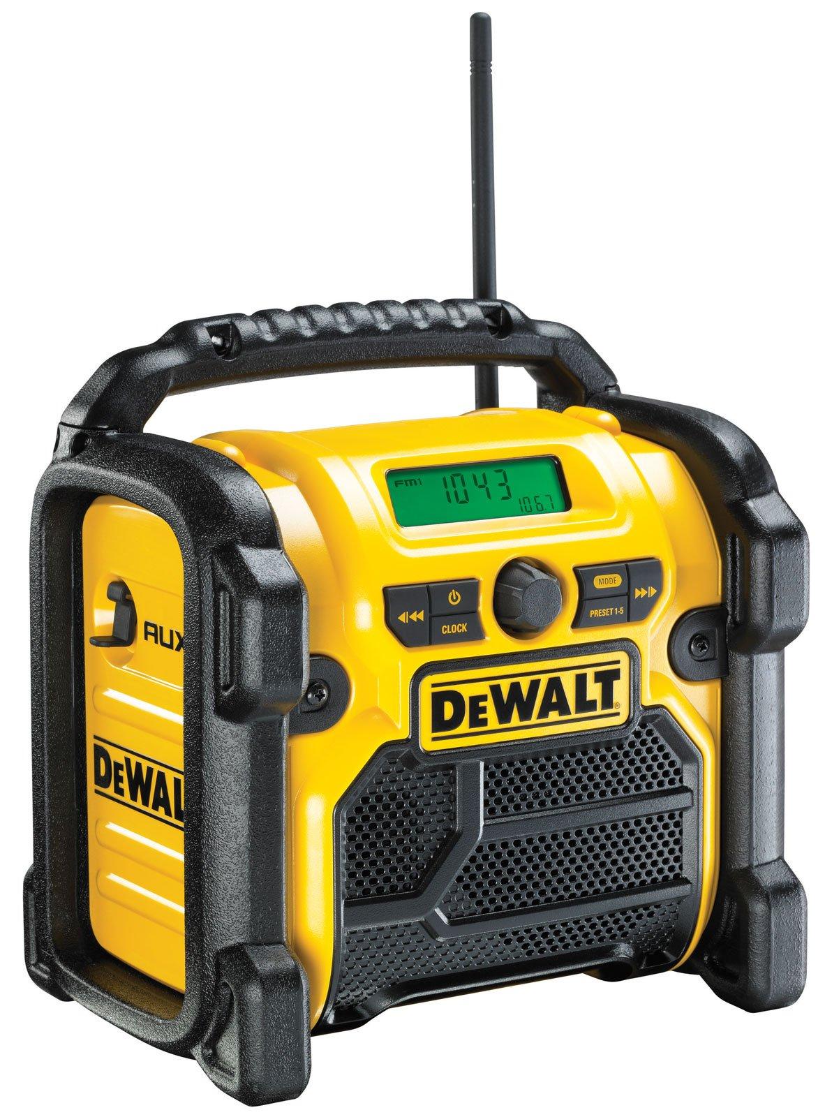 DeWALT DCR019 aku rádio 230V/10.8/14.4/18V bez aku