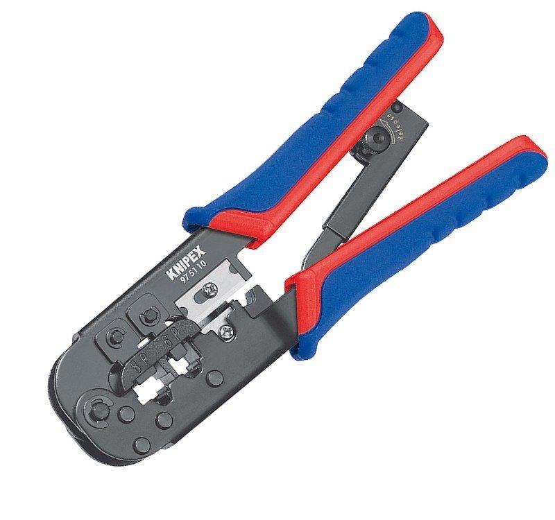 Kleště lisovací pro konektory Western Knipex 97 51 - 97 51 10