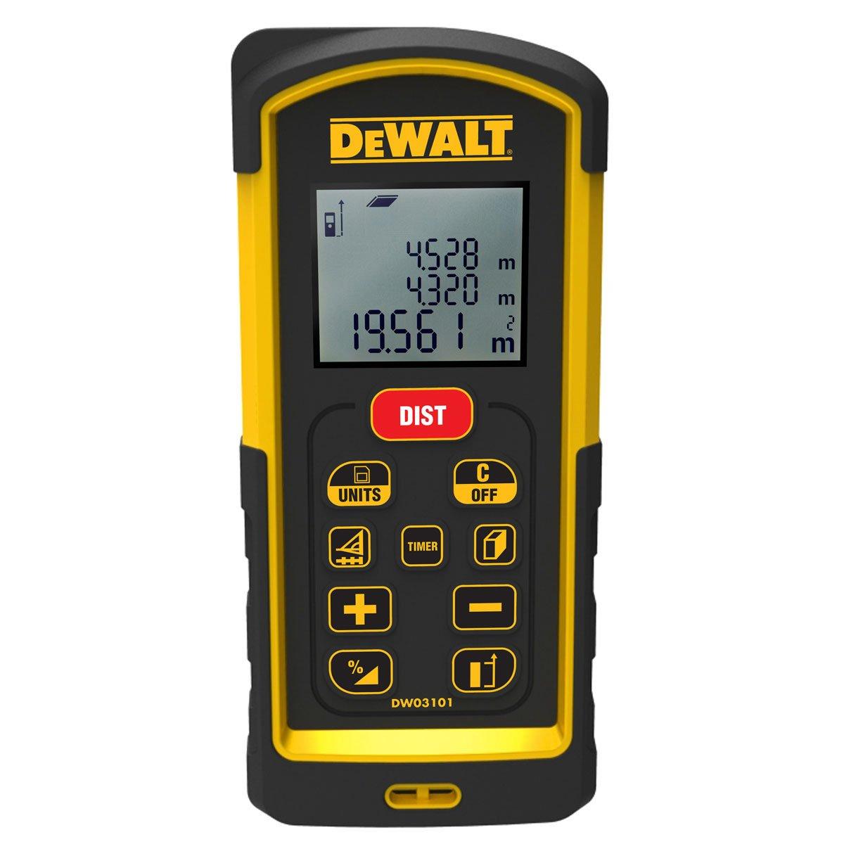 DeWALT DW03101 laserový dálkoměr 100m
